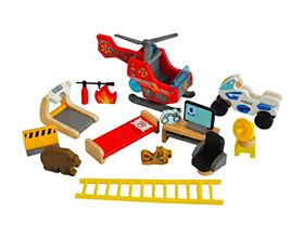 Accessori Heroeshouse MUtable - set completo Hape Toys